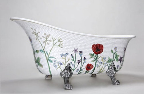 Unique Bathtub Mosaic Tiles Mosaicsweden