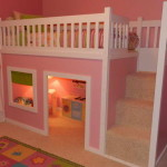 Unique Bunk Beds Design And Theme Pink