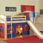 Unique Bunk Beds Design And Theme Red