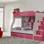 Unique Bunk Beds Design And Theme Red Seat