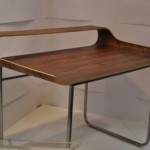 Unique Curved Stylish Minimalist Desk Home Furniture Collections