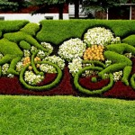 Unique Landscape Design Very Creative Art From Plants And Flowers