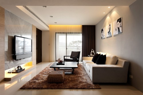 Unique Modern Living Room Pictures Decor