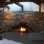 Unique Stone Fireplace Ideas One Total Snapshots Contemporary