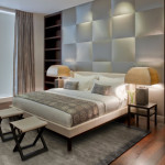 Upholstered Bed Frame And Headboard Modern Beds New York