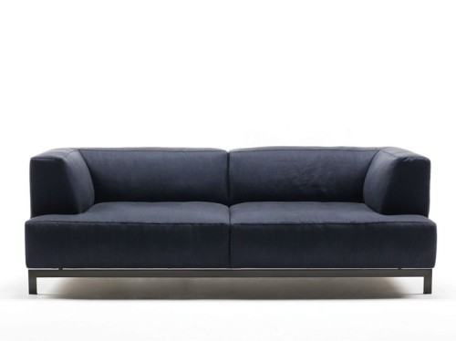 Upholstered Fabric Sofa Metrocubo Living Divani Design Piero