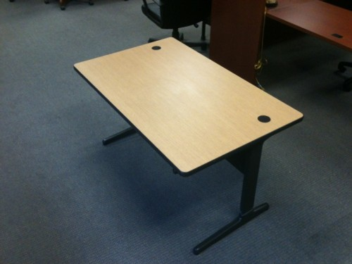 Used Herman Miller Adjustable Training Table Click See Full Size