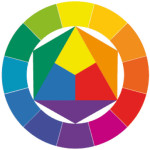 Uses Color And Two Adjacent Colors Its Complementary The