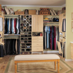 Using Big Closet For Simple And Tidy