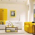 Using Color Balanced Composition Combines The Living Room Wall