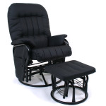 Valco Relax Glider Chair Black Think Twins