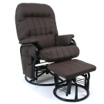 Valco Relax Glider Chair Brown Think Twins
