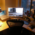 Vector Awesomely Cool Office Desk Setups