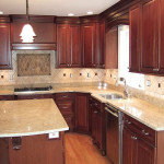 Very Small Shaped Kitchen Remodeling