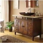 Vessel Sink Bathroom Vanity Design Wood Furniture Ideas Kfurniture