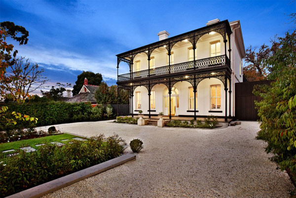 Victorian House Renovated Modern Style Perfect Combination