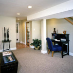 View Full Size Cool Basement Decorating Ideas For Home Office