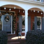 View The Front Porch Adorned Lighted Garland