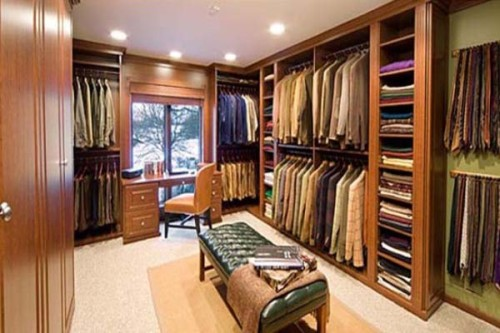 Walk Closet Design Ideas Low Costs