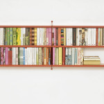 Wall Mounted Bookshelves Apartment Therapy