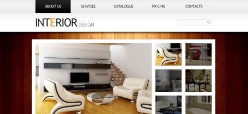 Website Sample Interior Design