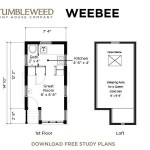 Weebee Plans House Green Building Small Cabins