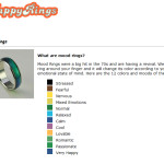 Weird Rings Mood Ring Chart
