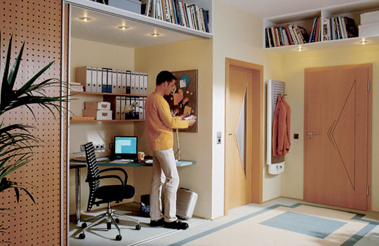 When Choose The Best Home Office Closets Modern Design Gallery