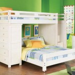 White Bunk Bed For Perfect And Affordable Room Accessories