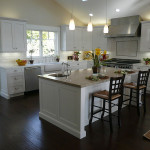 White Kitchen Cabinets Design Flat Ideas