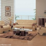 White Wall And Latest Cream Sofa Design Living Room For Home