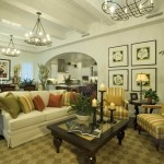 White Wall Interior Mga Tropical Touch Living Room Design