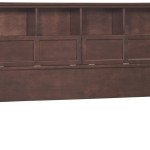 Whittier Wood Mckenzie Bookcase Headboard And Cubby Holes The