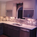 Widner Contemporary Kitchen Countertops Other Metro