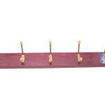 Will Not Easily Slip Off When Hanging This Wall Mounted Coat Rack
