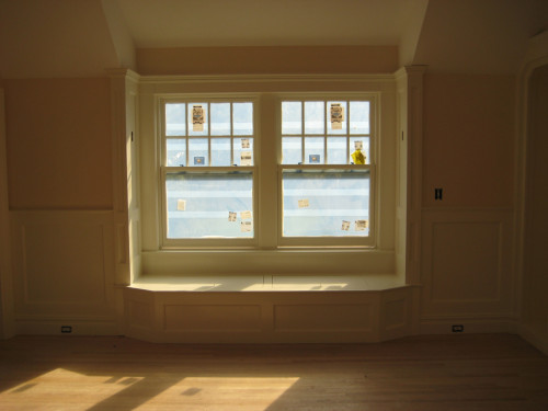 Window Seat Cabinetry During