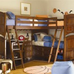 Wonderful Beds Corner Bunk Bed Design Stairs For