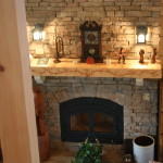 Wonderful Stone Fireplace Tumbled Fireplaces Images