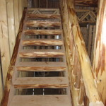 Wood Staircase Designs Rustic