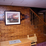 Woodbricks Brand Wall Covering Copyrighted And Trademarked The