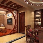 Wooden Arches Living And Dining Room China House