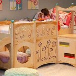Wooden Bunk Beds For Fantasy Playground