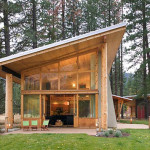 Wooden House Architecture Design Cabin Ideas Home Gallery