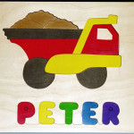 Wooden Name Puzzles Personalized Wood Jigsaw