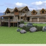 Wooden Natural House Design Designs Pictures