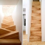 Wooden Staircase Stairs Sustainable Design Green