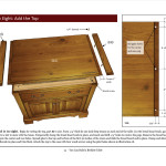 Woodfever Free Woodworking Plan You Can Build Bedside Table