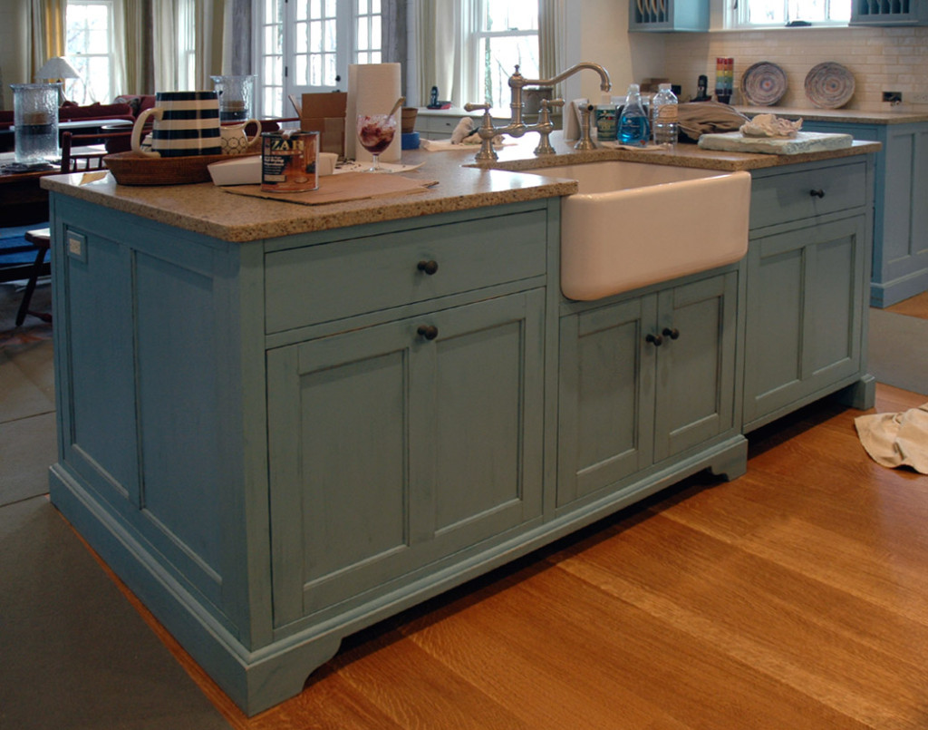 Woodworkers Journal The Kitchen Island Over And Out