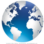 World Globe Psdgraphics