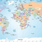 World Map Tourist And Travel Maps Big Globe